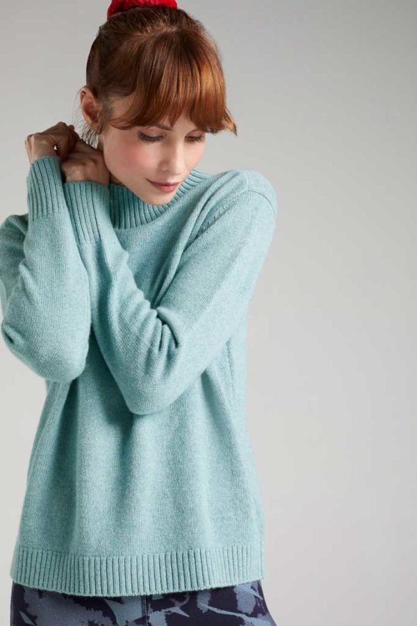 BAM1194-Womens-Boxy-Jumper-Soft-Mint-Marl-Bamboo-Clothing-1-600×900