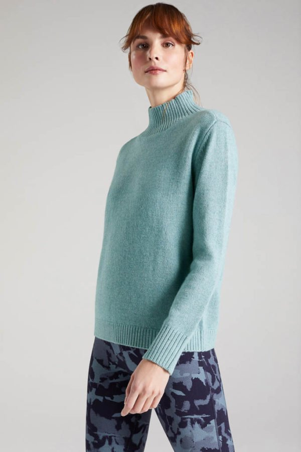 BAM1194-Womens-Boxy-Jumper-Soft-Mint-Marl-Bamboo-Clothing-4-600×900
