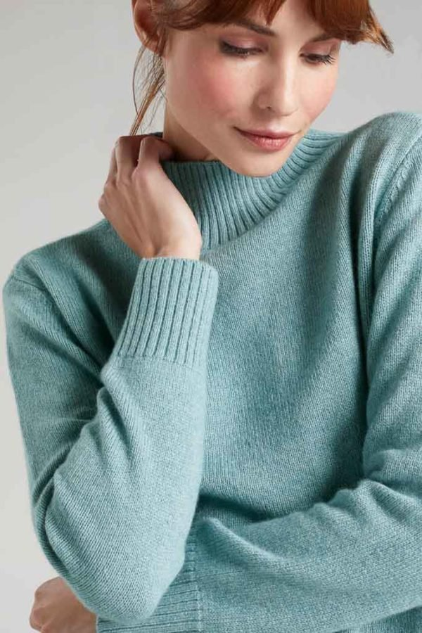 BAM1194-Womens-Boxy-Jumper-Soft-Mint-Marl-Bamboo-Clothing-5-600×900
