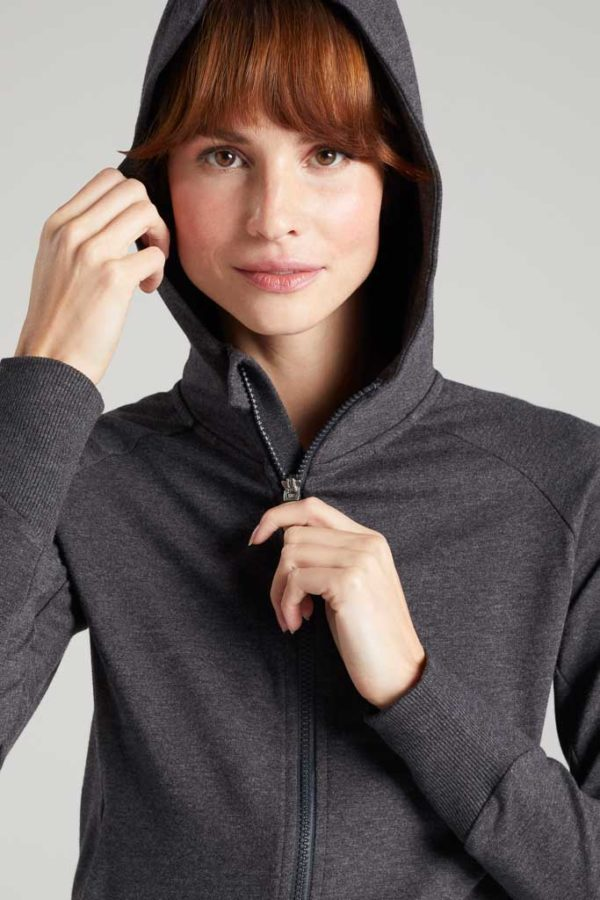 BAM1306-Womens-Performance-Sweat-Hoody-Charcoal-Marl-Bamboo-Clothing-5-600×900