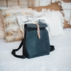 Quality Sustainable Black WAKEbag Poly Paper Washable Backpack