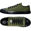 ETHLETIC FAIRTRADE TRAINERS CAMPING SPORT SHOES GREEN & JET BLACK