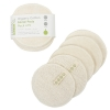 A SLICE OF GREEN ORGANIC REUSABLE COTTON FACIAL PADS - PACK OF 5