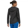 PATAGONIA WOMEN'S HOUDINI RECYCLED MATERIAL JACKET BLACK