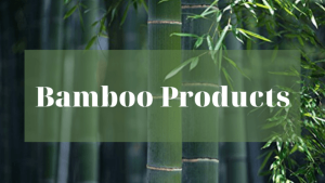 eco friendly bamboo products