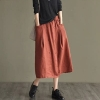Cotton skirts with 2 pockets